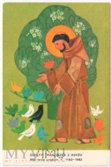 Duże zdjęcie Obrazek św. Franciszek z Asyżu