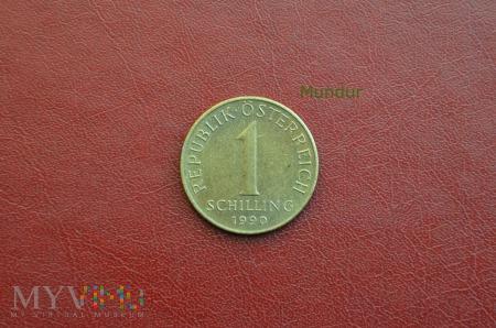 Moneta austriacka: 1 schilling