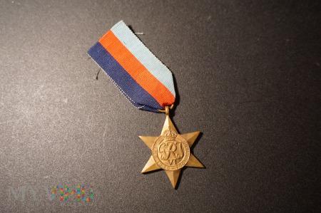 Gwiazda Za Wojnę 1939-45 przyznana żołnierzowi PSZ