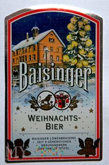 Baisinger Weihnachts-Bier