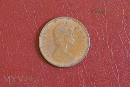 Moneta kanadyjska: 1 cent