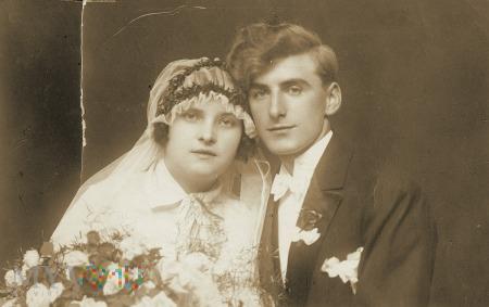 portret małżonków