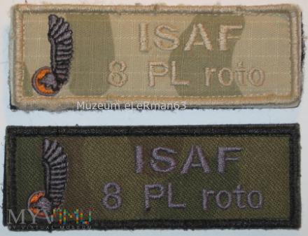 ISAF Afganistan 8 zmiana.
