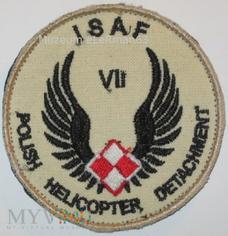 SGPSz PKW ISAF Afganistan VII zmiana.