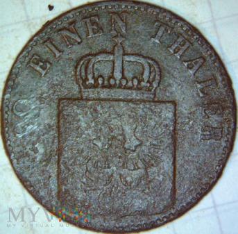 Duże zdjęcie Fryderyk Wilhelm IV 1841-1861- 4 PFENNINGE 1850 A