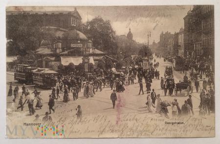 Hannover Georgstrasse, 30 Septber 1904