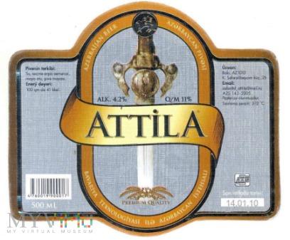 Azerbejdżan, Attila
