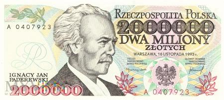 Polska - 2 000 000 złotych (1993)