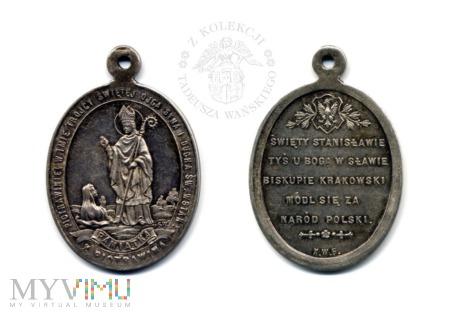 Medalik pamiątka z Piotrawina