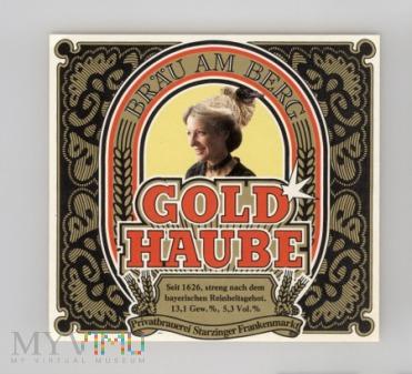 Gold Haube