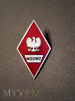 Odznaka absolwenta WSOWZ - 1972r.
