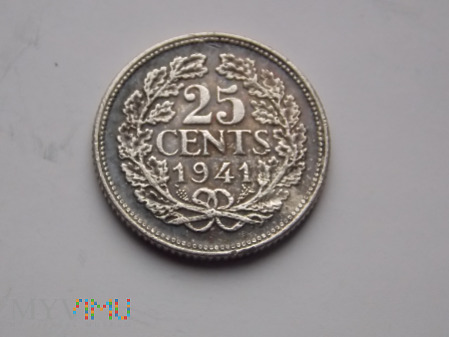 25 CENTÓW 1941 - HOLANDIA