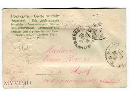 1903 Cléo de Mérode tancerka Belle époque Mińsk