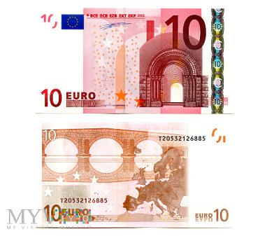 Duże zdjęcie 10 Euro 2002 (T20532126885) Duisenberg