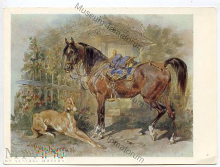 Kossak - Koń i pies - 1970