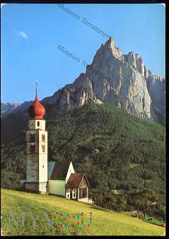 Dolomity - Siusi, kościół św. Walentego - 1986