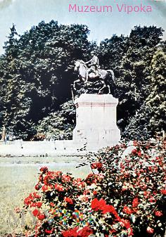 Duże zdjęcie Warszawa - Pomnik księcia Józefa Poniatowskiego