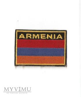 Armenia - naszywka przynależności państwowej