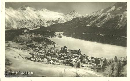 Szwajcaria - St. Moritz - 1929 r.