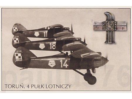 4. Pułk Lotniczy, Toruń, PWS-10