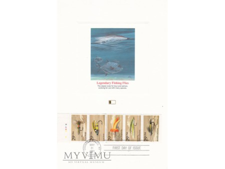 USA 1991 - FDC i maxi Don Balke