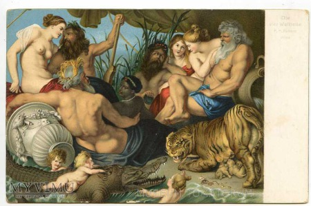P.P. Rubens - Cztery kontynenty