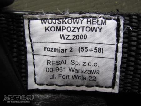 Hełm polski wz.2000