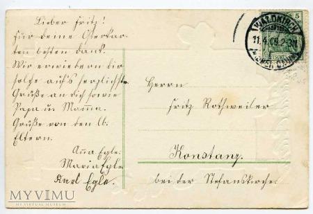 Wesołych Świat Wielkanocnych 1909