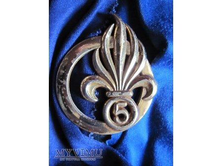 Odznaka beret 5RE