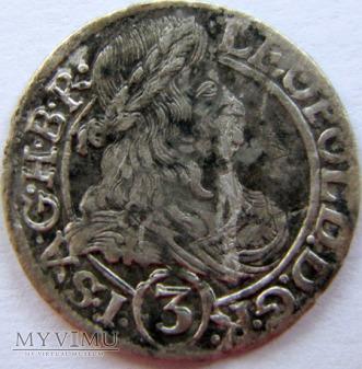 Leopold I Habsburg 1657-1705 - 3 krajcary 1666