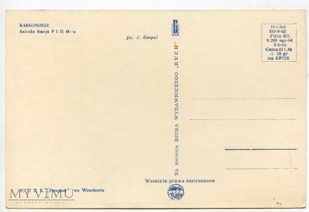 Karkonosze Śnieżka Schneekoppe Obserwatorium 1960