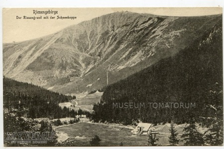 Karkonosze Śnieżka Schneekoppe 1926