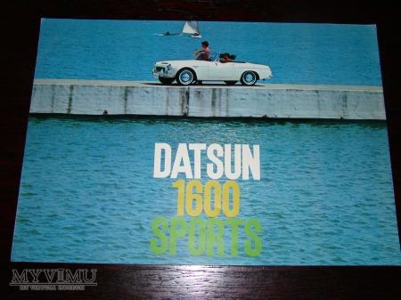 Prospekt DATSUN 1600 SPORTS