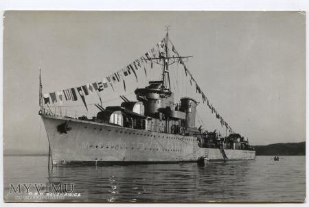Duże zdjęcie O.R.P. Błyskawica - 1950/60