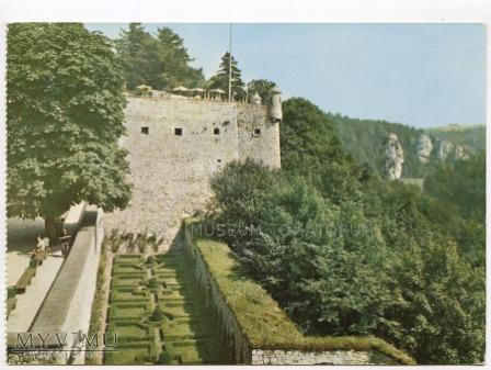 Pieskowa Skała bastion południowy - ok. 1970 r.