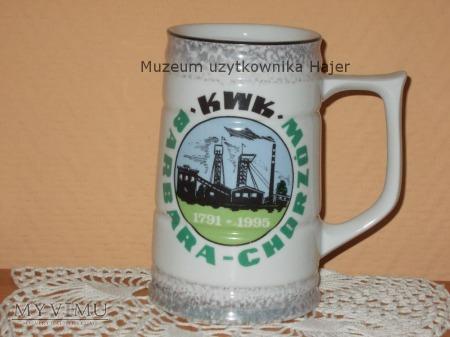 Kufel KWK Barbara-Chorzów Ostatni Kufel Piwa 1995