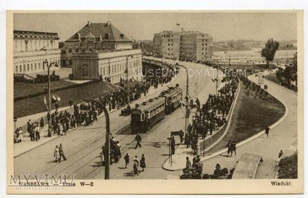 Warszawa - Trasa W-Z (Nowy Zjazd) - 1951 ok.