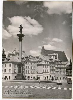 Warszawa - Plac Zamkowy - 1962