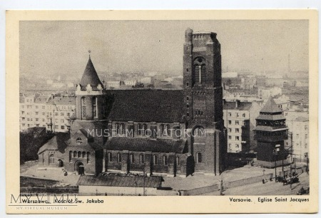 W-wa - Kościół św. Jakuba - 1930 ok.