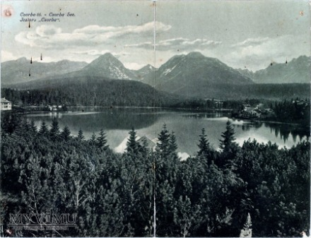 Duże zdjęcie Csorba tó – Csorba See.który to rok obiegu?