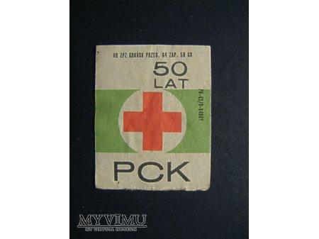 Etykieta - 50 lat PCK