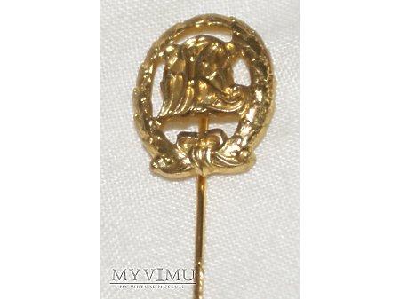 Odznaka Złota DRL miniatura