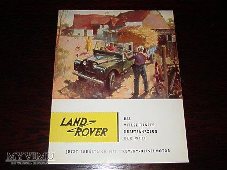 Prospekt LAND ROVER