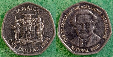 Jamajka, 1 DOLLAR 1996