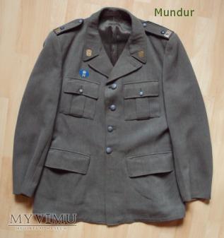 Szwecja; mundur sierżanta hemvärnet