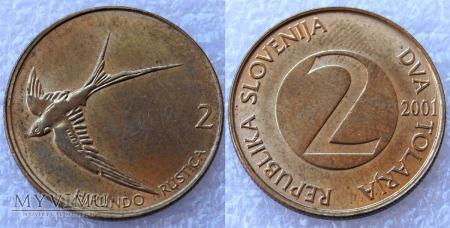 Słowenia, 2 TOLARJA 2001