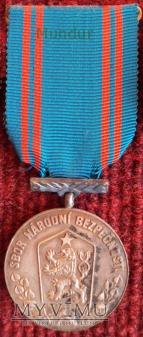 Medal czechosłowackiej bezpieki