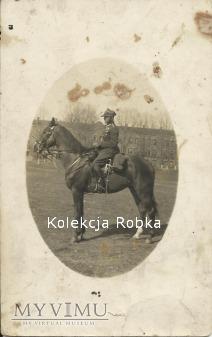 Duże zdjęcie Porucznik Mieczysław Gajewski 25 Pułk Ułanów W.