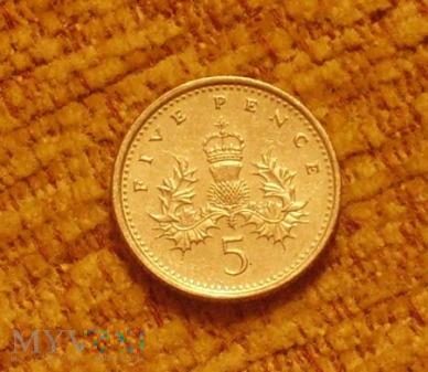 5 pence 1995r
