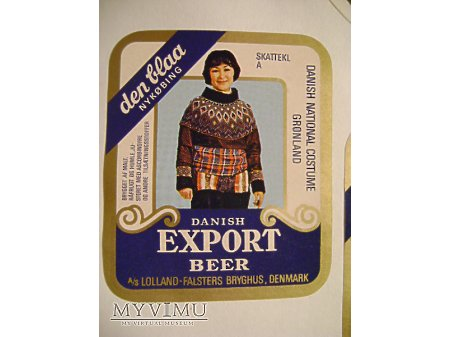 EXPORT BEER
